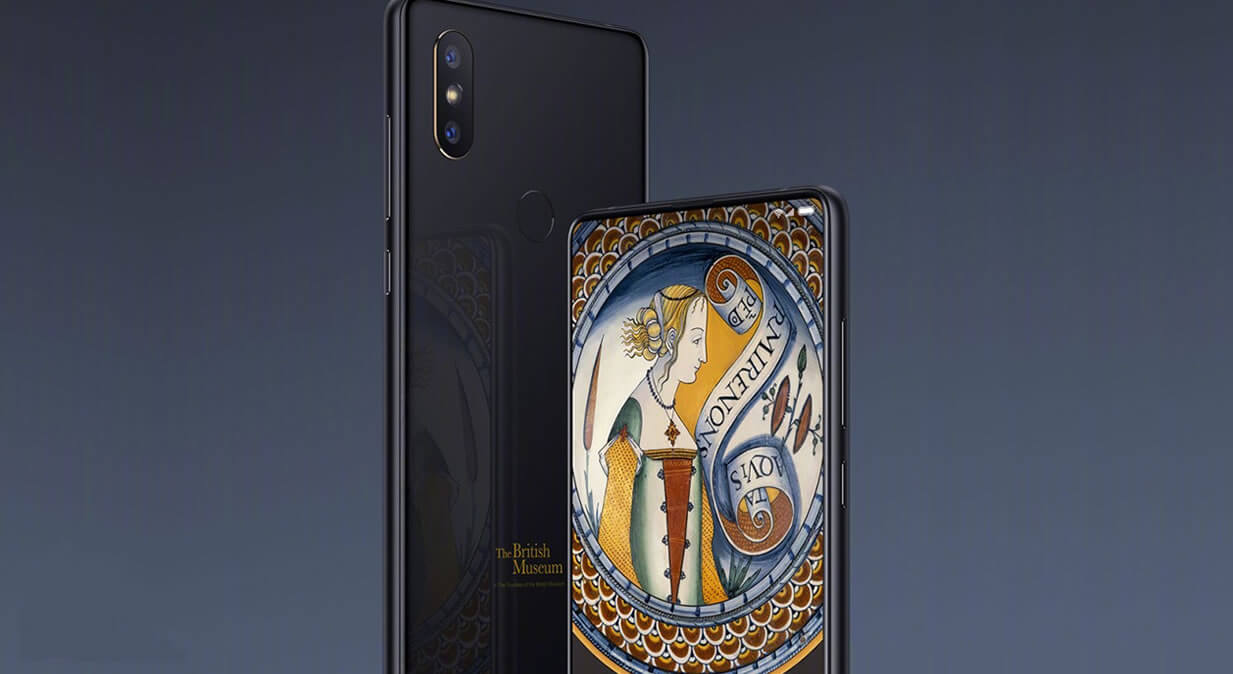 Xiaomi + British Museum= Xiaomi Mi Mix 2S Art Special Edition